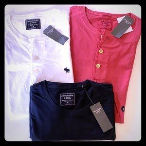 Abercrombie & Fitch Men's T-Shirts Bundle